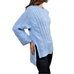 NWT Michelle Nicole Long Cozy Cable  Knit Sweater